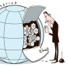 globalisation cartoon