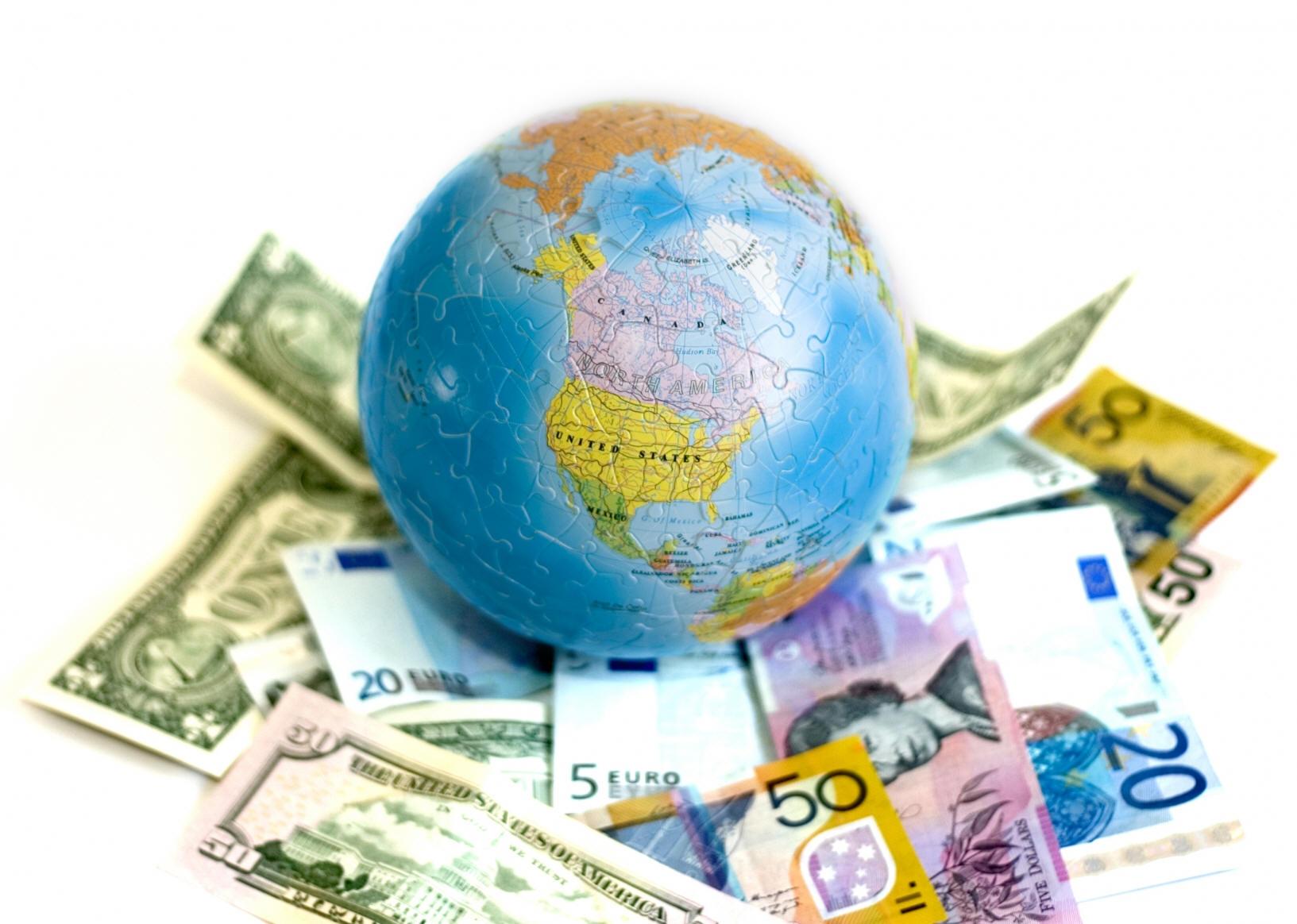 world with money